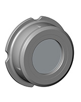 Клапан обратный осевой, межфланцевый, PN40, DN40, нержавеющая сталь 316 купить недорого, официальный дистрибьютор Мастер-Ватт